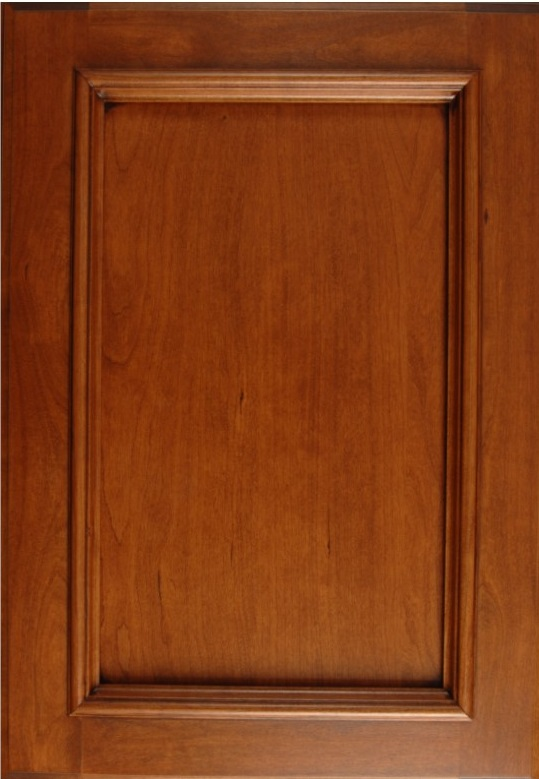 Maple Sanibel Madison with Applied Moulding in a Champagne Glazed Finish